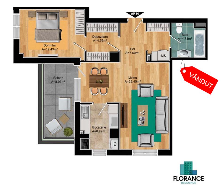 apartamente pipera 2 camere